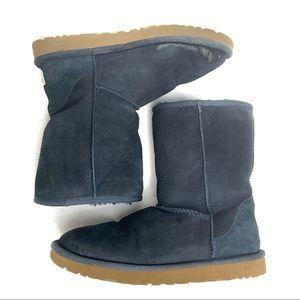 UGG Classic Short Winter Boots - Navy